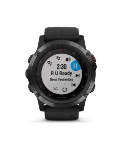 Garmin fenix 5x Plus,Sapphire,Black w/Blk Bnd,GPS Watch,EMEA