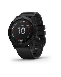 Garmin fenix 6X Pro Black w/Black Band GPS Watch EMEA