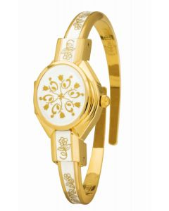 Elegance yellow gold plated watch