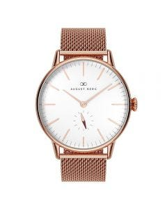 SERENITY SIMPLY Rose Gold Classic eye Rose Gold Mesh 40mm