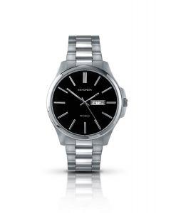 Sekonda Gents Silver & Black Watch