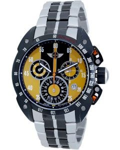 Mini Cooper two tone stainless steel watch