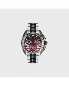 Mini Cooper British flag stainless steel watch
