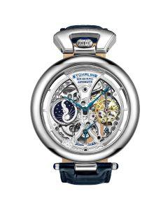 Stuhrling men's emperor's grandeur automatic watch - 49mm