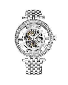 Stuhrling women's Delphi skeleton watch - 38mm
