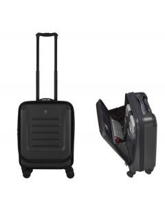 Victorinox Spectra 2.0 Expandable Global Carry on, Front Opening BLACK