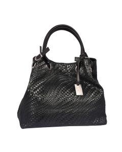 Tred leather shoulder bag