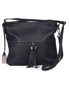 Loly zip leather crossbody bag