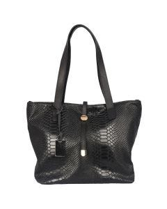 Cresy leather tote bag