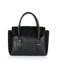Sanremo suede leather bag