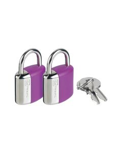 Go Travel - Locks - 708 - Key Glo Gt Locks (Twin Pack)