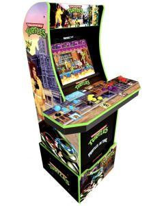 Arcade1Up Teenage Mutant Ninja Turtles (4 Players) with Riser - Bundle - Arcade Cabinet