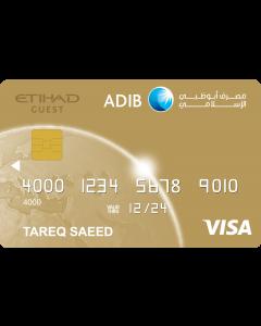 ADIB Etihad Guest Gold Covered Card