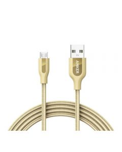 Anker Powerline+ Micro USB Cable 0.9m 3FT Gold - A8142HB1