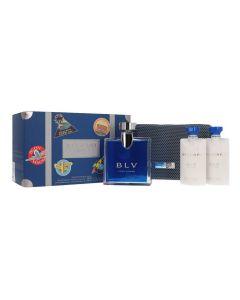 Bvlgari BLV 4Pc Gift Set for Men