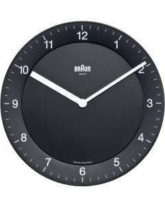 Braun Classic Analog Wall Clock BNC006BKBK Black