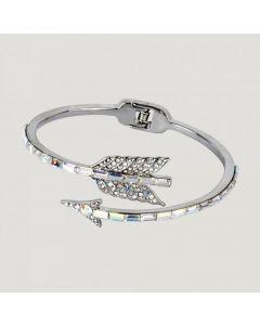 Butler & Wilson Adjustable Crystal Arrow Bracelet - CLEAR
