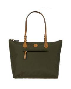Brics X-Bag Shopping Bag - Olive