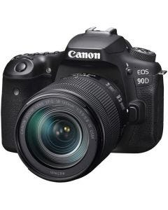 Canon EOS 90D DSLR Camera Black + EFS 18-135mm Lens