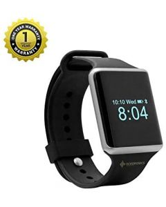Echo Ultra Smart Fitness Watch - Smart Watches for Men and Women with All Activity Tracker, Heart Rate, Blood Pressure= Black