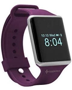 Echo Ultra Smart Fitness Watch - Smart Watches for Men and Women with All Activity Tracker, Heart Rate, Blood Pressure-Purple