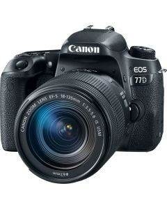 Canon EOS 77D DSLR Camera with EF-S 18-135mm IS USM Lens Kit