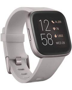 Fitbit Versa 2 (NFC), Stone/Mist Grey Aluminum