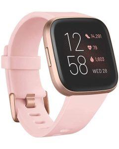 Fitbit Versa 2 (NFC), Petal/Copper Rose Aluminum
