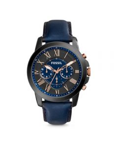 Fossil Bowman Chronograph Brown Leather Watch (FS5061)