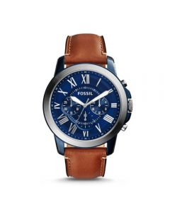 Fossil Grant Chronograph Light Brown Leather Watch (FS5151)