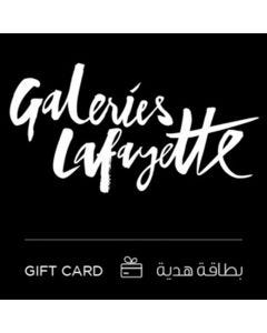 Galeries Lafayette The Dubai Mall e-Gift Card 100 AED