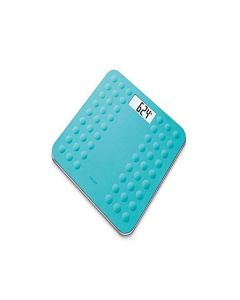 Beurer GS-300 Glass Bathroom Scale-Turquoise