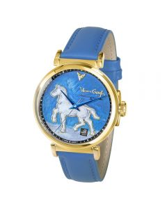 Plaster statuette of a horse 3D watch