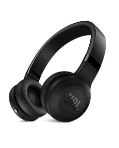 JBL On-ear wireless headphones, Bluetooth and ANC, black