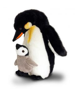 Keel Toys 30cm Penguin with Baby