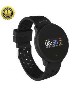 MevoFit Race-Dive Swimming-Smart-Watch for Fitness & Sports PRO: Stylish-Sporty-Swimming-Smart-Watch, All Activity Tracking Black