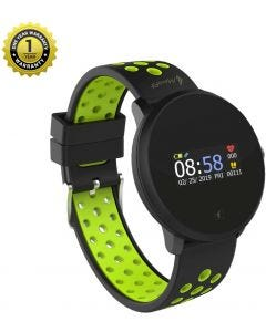 MevoFit Race-Dive Swimming-Smart-Watch for Fitness & Sports PRO: Stylish-Sporty-Swimming-Smart-Watch, All Activity Tracking Green