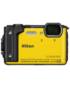 Nikon CoolPix W300 - 16MP Sport Action Camera  - Yellow
