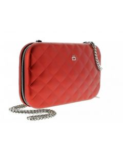 Ogon Quilted Clutch - Red