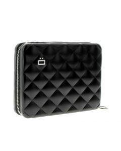 Ogon Quilted Purse - Black