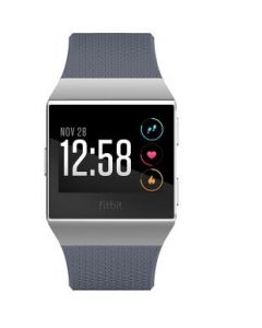 Fitbit IONIC Smartwatch-Silver Gray