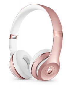 Beats™ SOLO3 Wireless Bluetooth On-Ear Headphones - Rose Gold