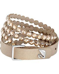 Swarovski Slake Power Collection Bracelet, Brown