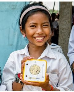 SolarBuddy: Give the gift of light and transform 25 lives.