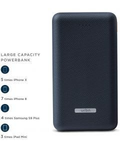 Powerbank 20,000 mAh Lithium Polymer Battery