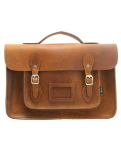 Yoshi Belforte Satchel - Brown Hunter